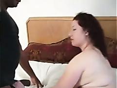 Huge ass white girl and her black lover