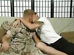 STR8 MILITARY GUY LOVES A THICK COCK 1