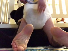 Messy diaper squish - video 2