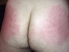 Sub college student spanked