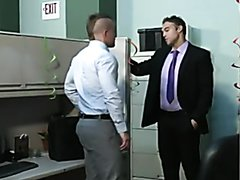 Punk in suit fucks his work colleague