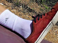 White socks - video 25