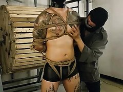 Hooded Asian Bondage 2