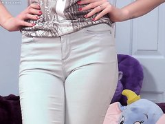 Girl Pees Her Blue Pants
